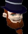 Goth leprechaun chathead