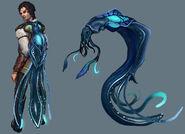 Squid cape concept art 2