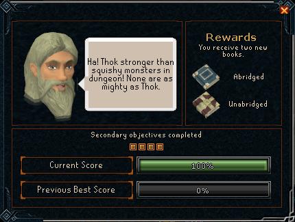 Thok It To 'Em reward