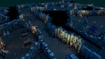 Inside Taverley Dungeon