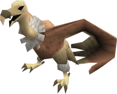 Vulture (pink ruff) pet