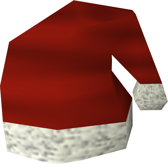 Santa hat detail