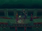 Sliske takes Nomad's corpse