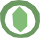 Green Gemstone logo