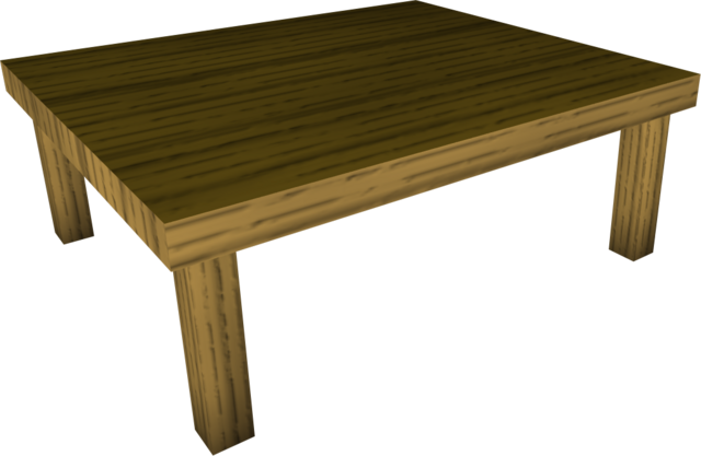 Wood Kitchen Table Runescape