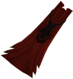 Dragon ceremonial cape detail