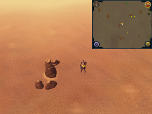 Scan clue Kharidian Desert southwest of desert lizards