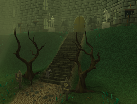 Slayer Tower entrance old