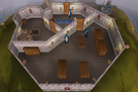 Wizards' Tower ground floor old
