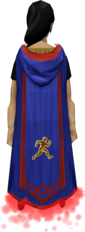 Agility master cape equipped