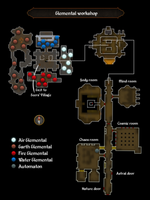 Elemental workshop map