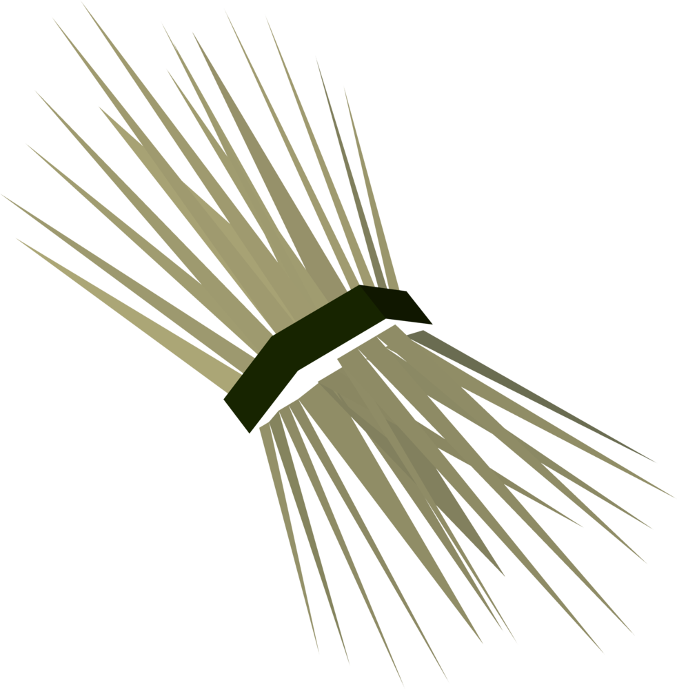 Straw detail