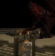 Dragon vs Sir Vant