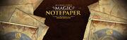 Magic Notepaper banner