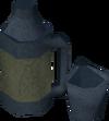 Tea flask detail
