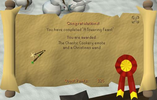 2011 Christmas event reward
