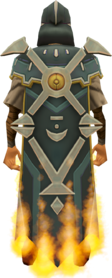 Veteran cape (15 year) equipped