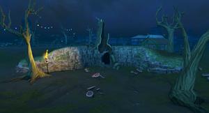 Lumbirge swamp cave