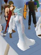 Queen of snow scene