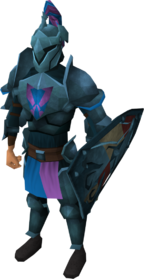 Rune heraldic armour set 2 (lg) equipped