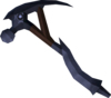 Mithril pickaxe detail