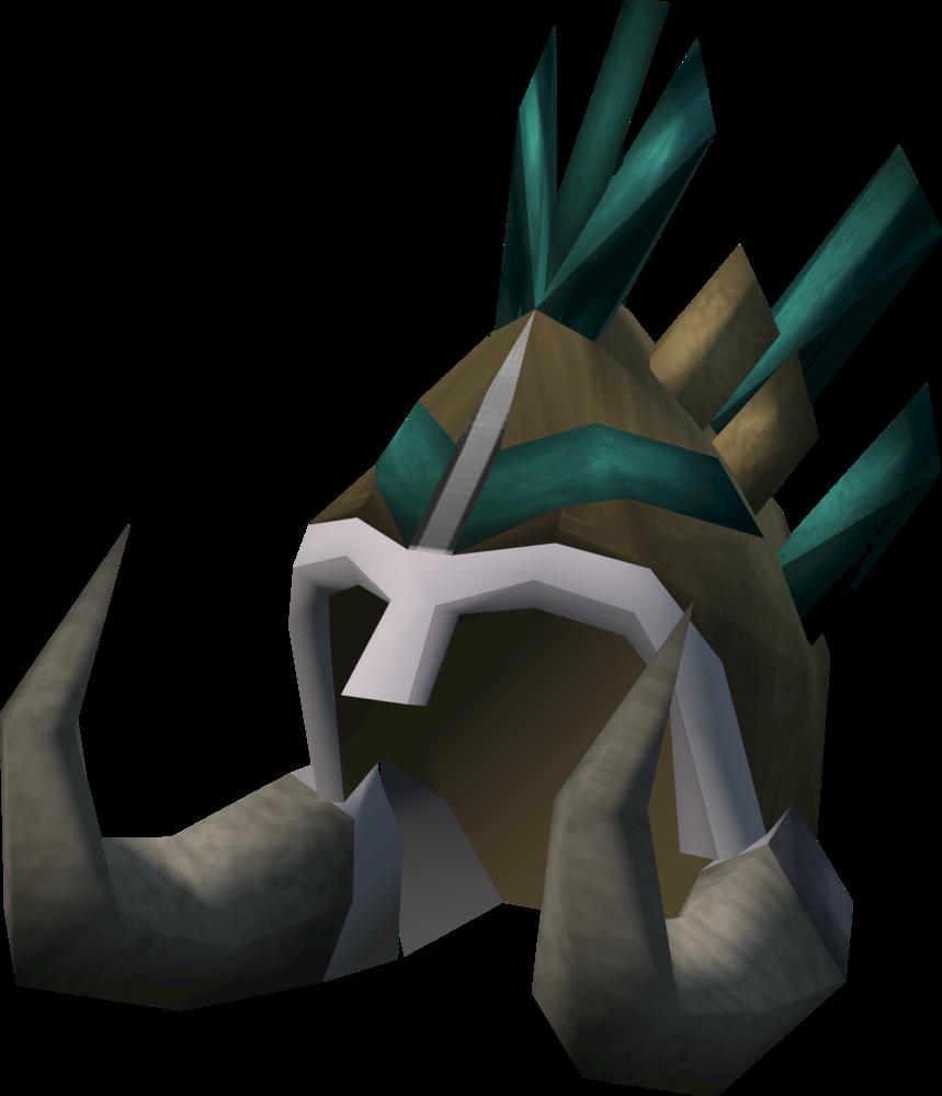Warlord headdress detail