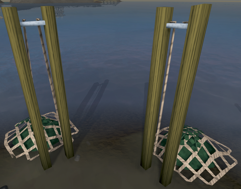 Seaweed nets