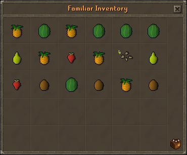 Fruit Bat inventory