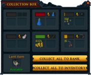 Grand Exchange collection box