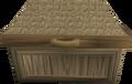 Oak fancy dress box detail