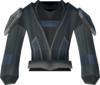 Salve robe top detail