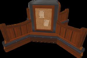 Clan noticeboard