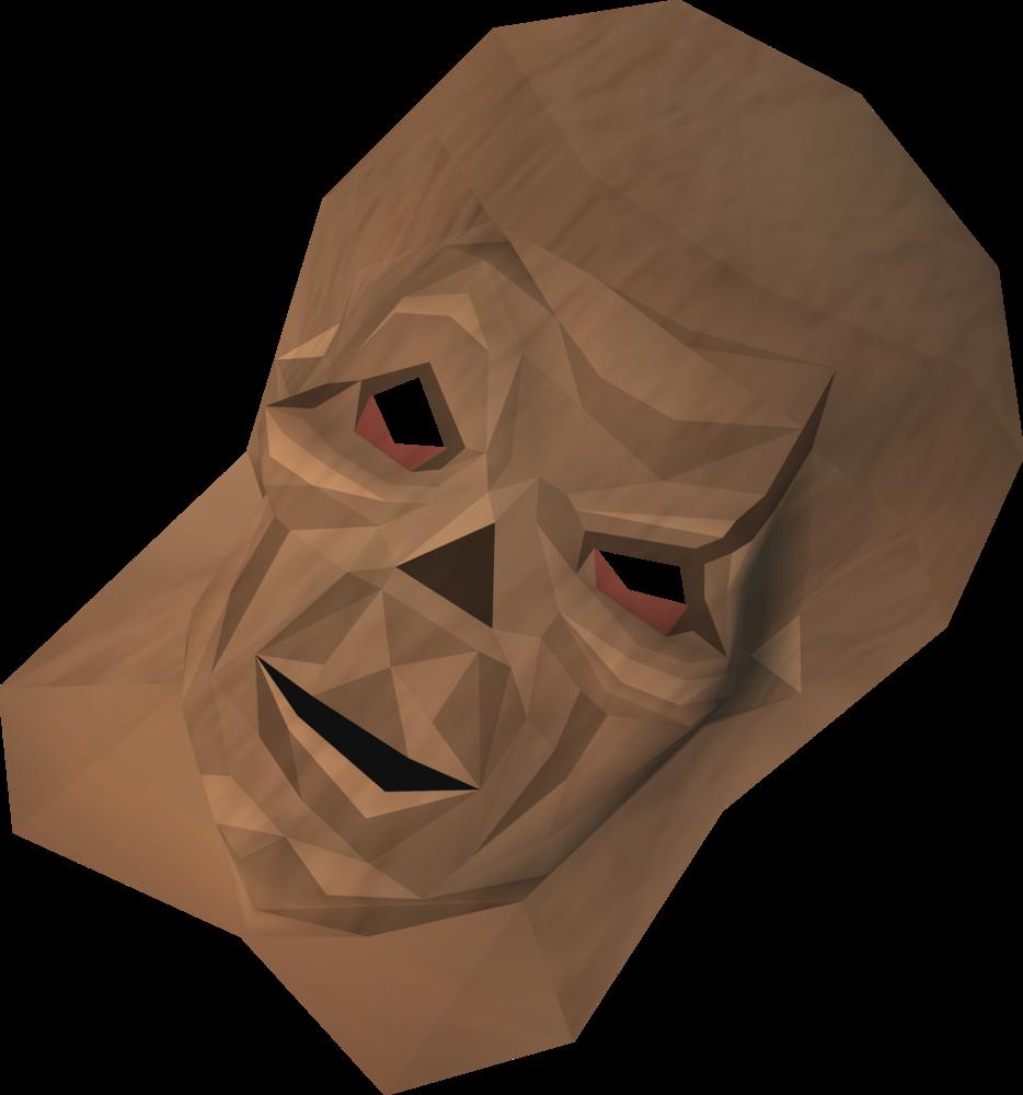 Ghoulish mask detail