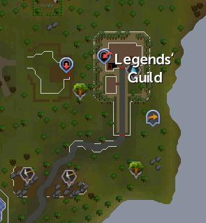 Legends' Guild mining site