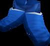 Mystic boots (blue) detail