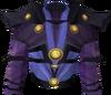 Batwing torso detail