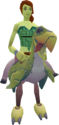 Terrorbird mount (yellow) equipped.png