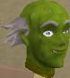 Zombie mask chathead