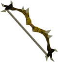 Dark bow (yellow) detail