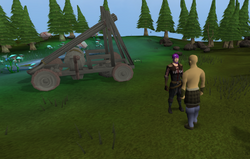 Catapult construction start