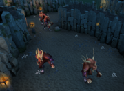 Taverley Dungeon demons