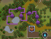 A Void Dance Karamja goo trail map