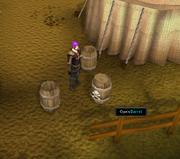 Digsite barrels