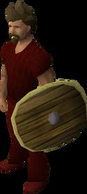 Fremennik round shield equipped