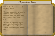 Mysterious book pt1