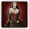 Gothic outfit icon (female)