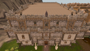 Warriors' Guild builiding