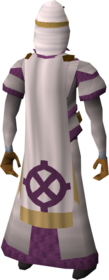 Ancient cloak equipped