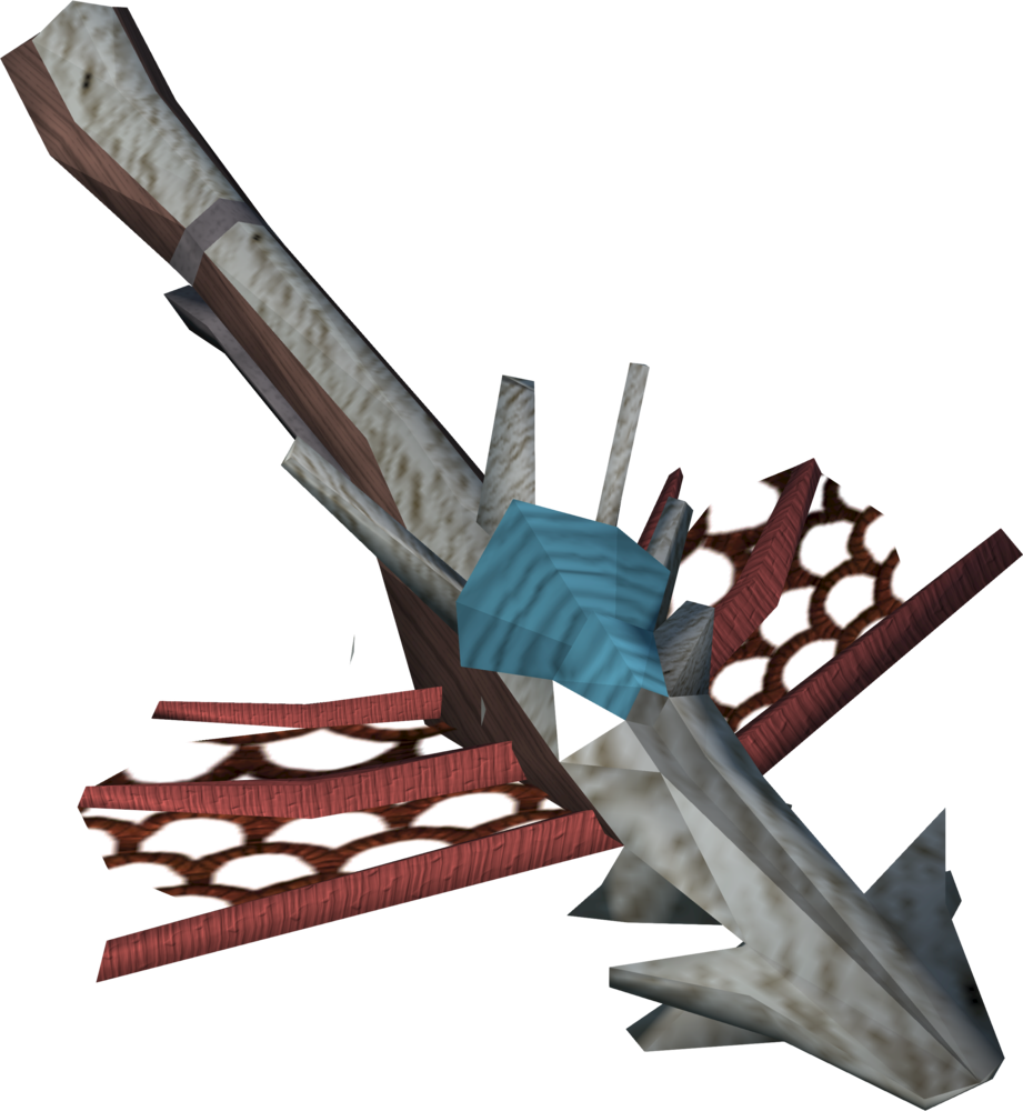 Coral crossbow detail