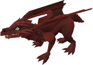 Baby dragon (red) pet